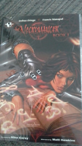 The Necromancer book 1 illustrated novel by Top Cow