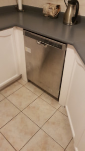 STAINLESS WHIRLPOOL DISHWASHER GOOD CONDITION- $100