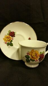 Sadler Wellington Fine Bone China - Tea Cup and Saucer Belleville Belleville Area image 1