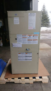 Dynapack  high efficiency gas furnace and AC self contained