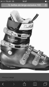 Bottes ski Lange Excusive, neuves 24.5 / 6-6.5 US