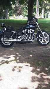 2001 dyna superglide with ss top end $7500 or best offer London Ontario image 1