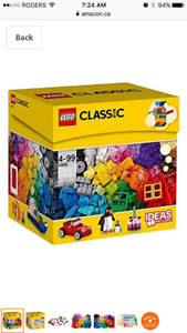 LEGO Classic Brick Box 10695 with 580 Pieces (NEW)