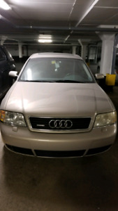 Want to sale audi 2001 A6, need battery replacement