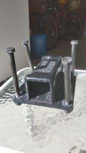 Bumper hitch adapter