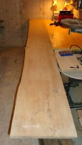 10 foot long old pine plank 15 inches wide live edge wood lumber