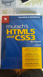 Murachs HTML5 and CSS3 3rd edition