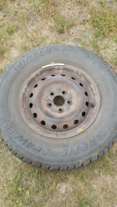 4 tires and rims 205/75/R14