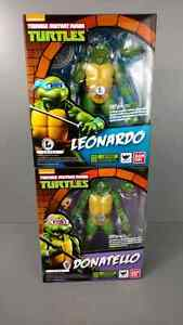 Shf Figuarts TMNT Donatello and Leonardo Peterborough Peterborough Area image 1