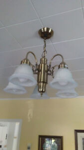 CEILING LIGHT CANDELIER $50.00 ..... CHECK OUT MY OTHER ADDS