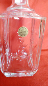 Cristal D'Arques France Crystal Decanters new in box