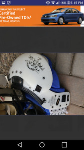 Football Pads & Helmet