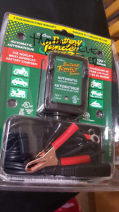 battery charger only $30. brand new in canadian tire $49