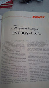Power The Spectacular Story of Energy - USA 1957 Kitchener / Waterloo Kitchener Area image 2