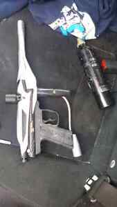 Paintball marker with accessories 40$$ IF GONE TODAY