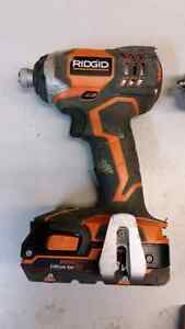 Ridgid X4 hammer drill and driver kit London Ontario image 4