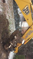 Backhoe and/or Skid Steer Services