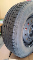 LIKE NEW -4 Winter Tires - 235/70/R16 Michelin -$500