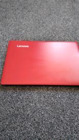 Small laptop.