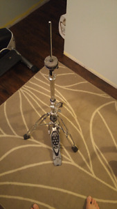 Pearl Double Brace Hi Hat Stand - excellent cond. , needs clutch