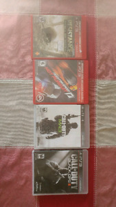 Ps3 with 4 games & cash for trade for cell phone