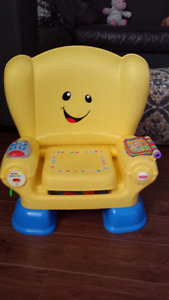 Chaise parlante / musique Fisher Price comme neuf