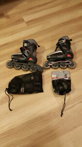 Size 1-4 Firefly SL 175 Jr Inline Skates/Rollerblades