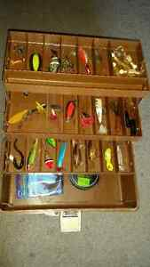 Tackle box full of goodies  $45 for everything see my other ads.