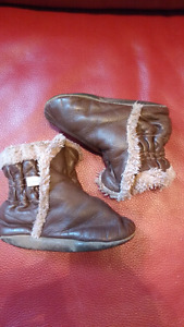 Robeez 18-24 month leather booties $15 takes