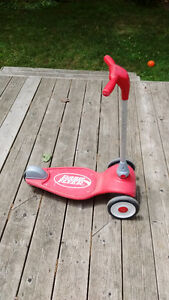 3-wheel Radio Flyer scooter