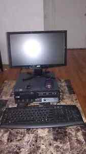 Ordinateur de bureau IBM complet avec écran Acer 20 pouces