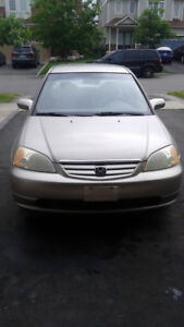 Honda Civic 2002 Sedan (314KM) for 900.00