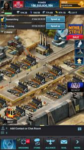130B Mobile strike account
