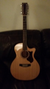 12 String acoustic electric Martin