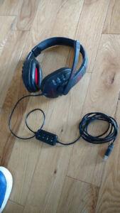 Raoopt G727 headphones w mic