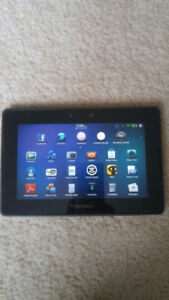 Blackberry Playbook(16GB) tablet + case + rapid charger