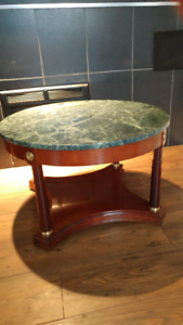 Bombay coffee table marble