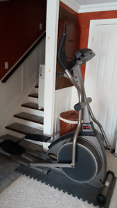 Commercial Grade Elliptical by Universal Fitness
