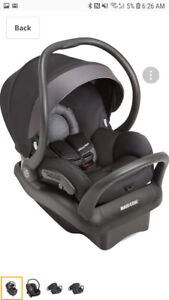 Selling Maxi cosi car seat and stroller