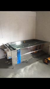 Hydropgraphic dipping tank model: LP-3DT-25