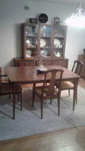 Dining set and 6 chairs