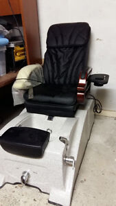 New Pedicure Pedi Spa Chair Salon Equipment Furniture Pipeless