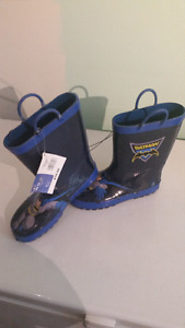 Brand new Batman Rubber Boots
