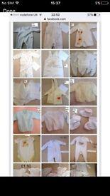 Unisex baby clothes 0-6 months bundle