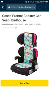 Cosco Pronto Highback 2 in 1 Booster Seat