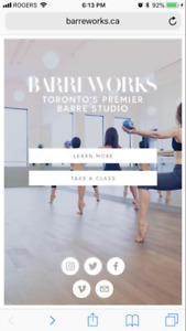 Barreworks Electronic Gift Certificate