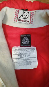 Vintage James Bay Cream Wool Inuit Parka Peterborough Peterborough Area image 3