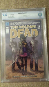 Walking dead comic #19 graded 9.6 ( make an offer)