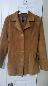 Suede jacket Medium size.