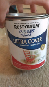 Red latex paint. -946ml